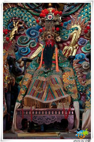 菓葉聖帝廟-鎮殿文衡聖帝